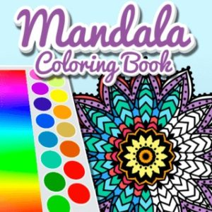 Mandala Kids Coloring Book Free Game