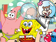 Spongebob Bubble Parkour Cartoon Game