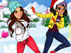Didi Snowball Fight girls game