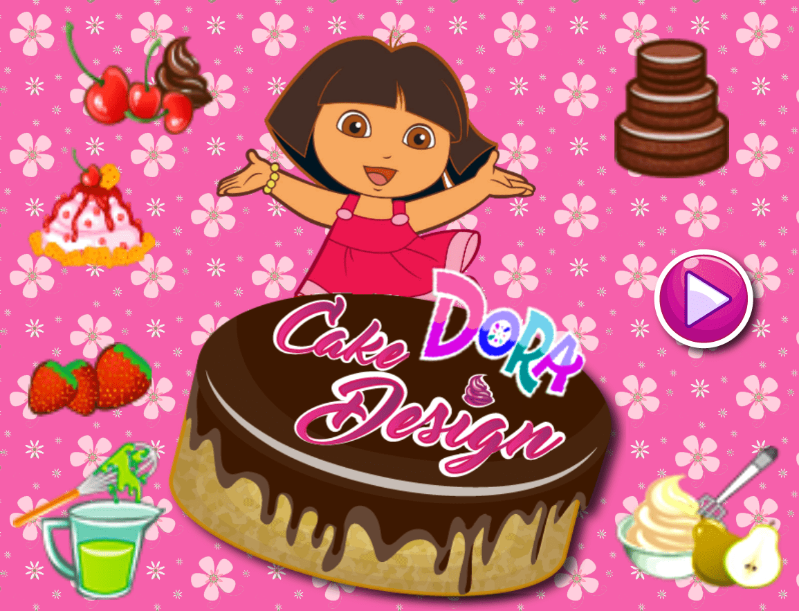 Dora Cake Design Games Online Free At Gamespinn