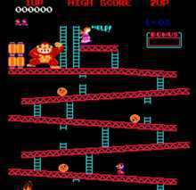Donkeykong Classic Arcade Free Game Online