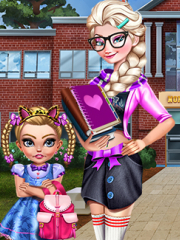 Didi Sister School Dressup game
