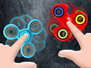 Hand Fidget Spinner Game