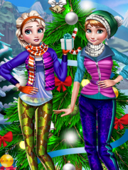 Winter Frozen Holiday Fun didi game