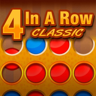 Connect 4 In A Row Puzzle Game