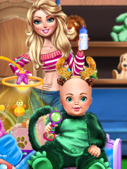 Babysitter Fun Day game picture
