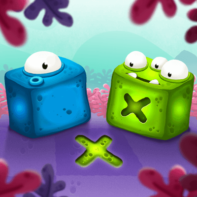 Jelly Block Movers bubble popper game